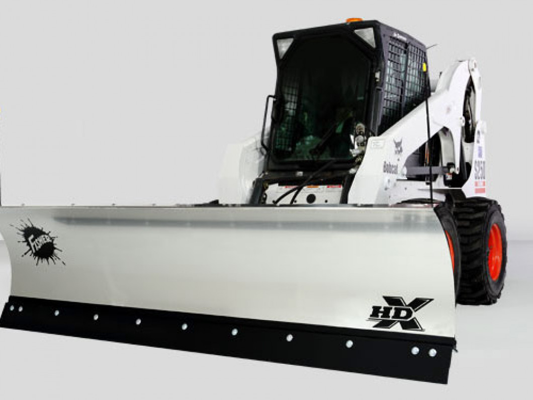 SKID-STEER Loader Snowplows