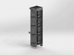 Refrigerant Rack For Cargo Vans, Square Back Unit